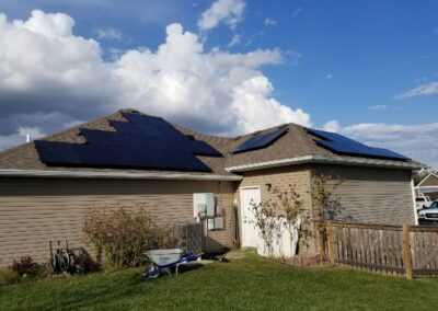 SunPower Residential Home Solar Array in Knob Knoster, Missouri
