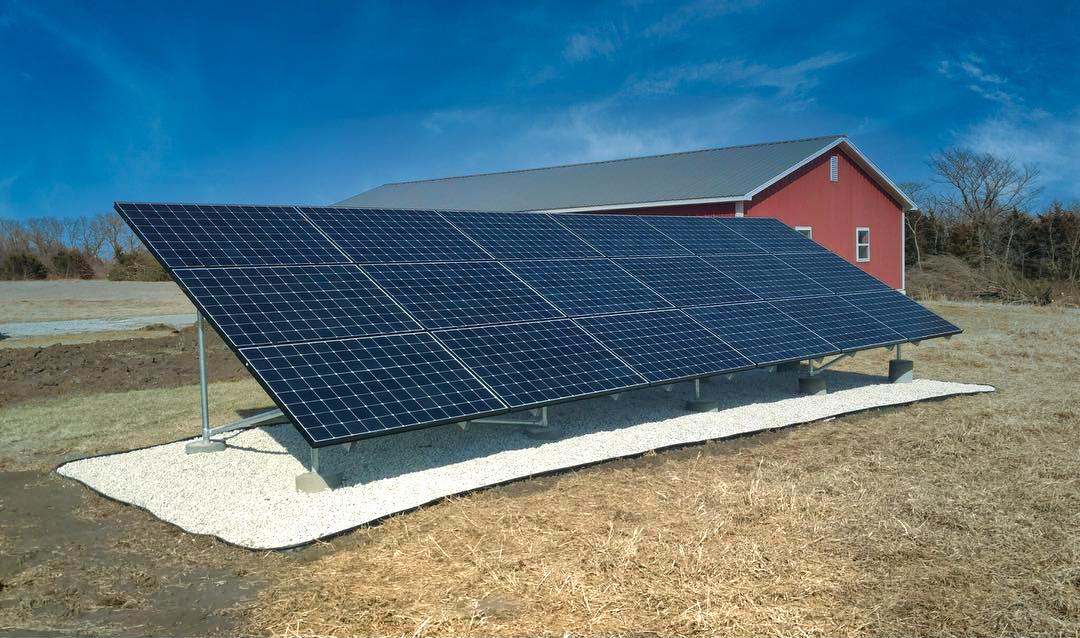 Ozawkie Kansas Home Solar