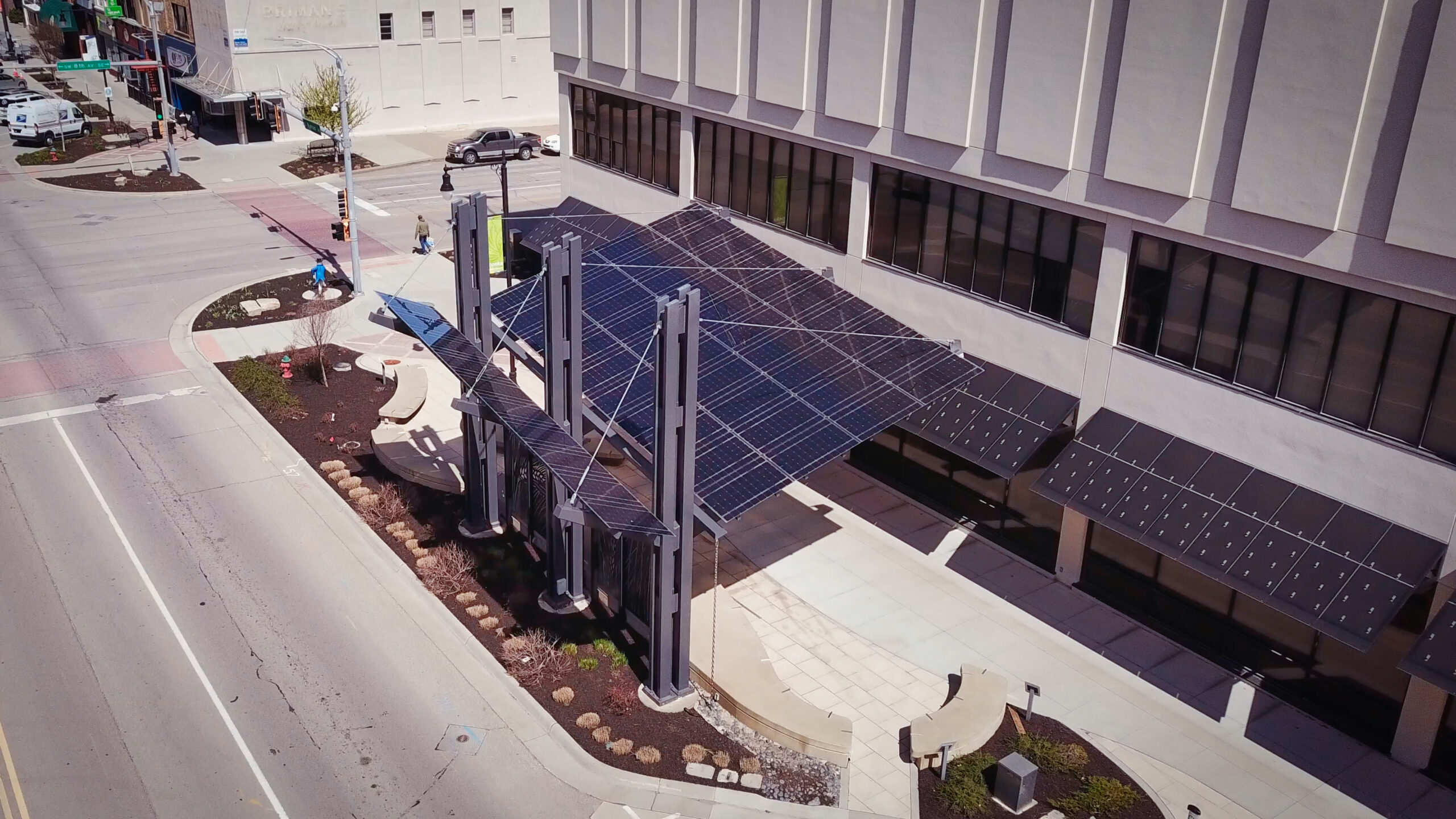 Evergy Solar Awning Topeka
