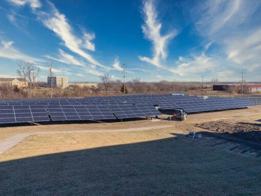 SunPower Commercial Solar Array at Mastercard KC, Missouri