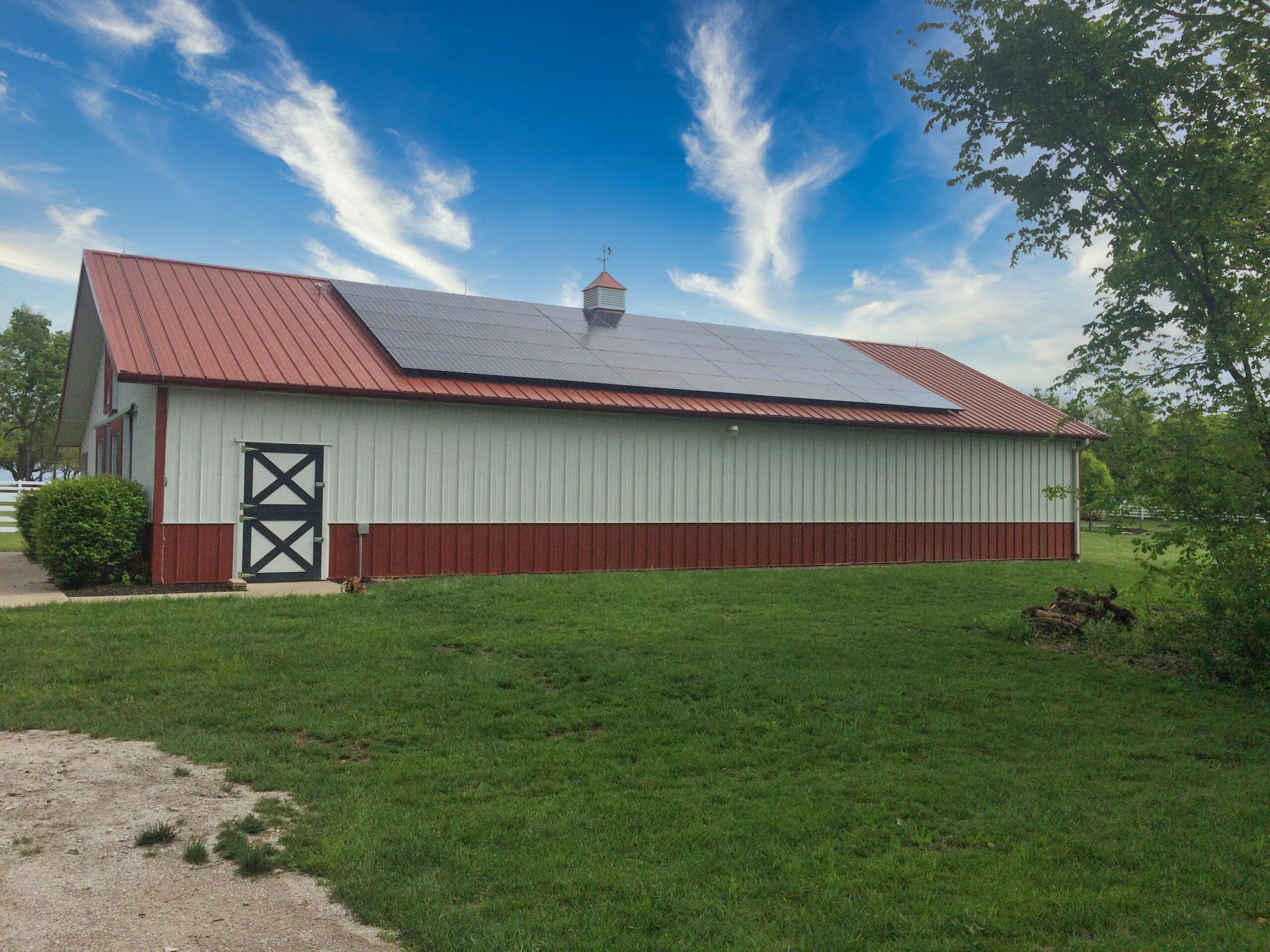 Kansas Barn Roof Solar
