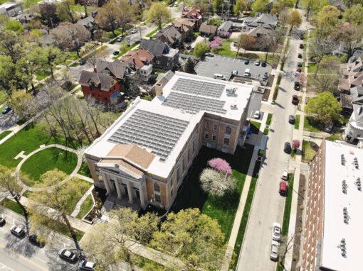 SunPower Commercial Solar Array at Central Presbyterian in Kansas City, Missouri