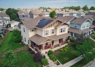 7.848 kW SunPower Residential Solar Installation in Lee's Summit, Missouri